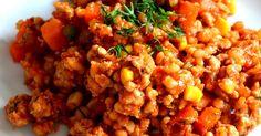 Mój mąż jedząc to danie stwierdził, że nie pamięta kiedy ostatni raz jadł coś tak dobrego. Było to zaraz po powrocie z wakacji, gdzie o... Chana Masala, Fried Rice, Food And Drink, Menu, Vegetables, Cooking, Healthy, Ethnic Recipes, Indie