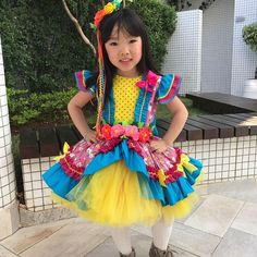 E a beleza dessa caipirinha? Baby Dress, Dress Up, Harajuku, Kids Outfits, Kids Fashion, Halloween Costumes, Mundo Craft, Children, Party
