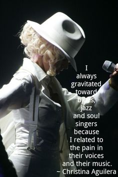 ....blues, jazz and soul singers....