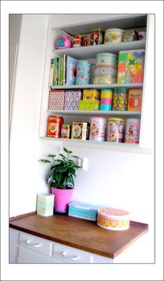 Pink Friday -  #decoração #latas