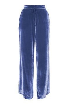 Lilac velvet wide leg trousers. Made in Britain, by Boutique.