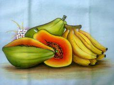Perfeitas....mamão e banana