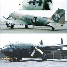AC-47 Spooky (Top picture) Attack Cargo Plane Project I, AC-119G Shadow and AC-119K Stinger Attack Cargo Plane Project III