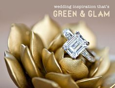OMG OMG OMG OMG OMG OMG OMG!!!!! SIMPLY SAVANNAH EVENTS & IZZY HUDGINS PHOTOGRAPHY!!!!! BIG DEAL . Green + Glam Wedding Ideas