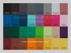 color trends 2016 - 2017