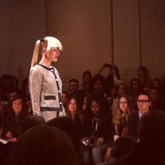 #lfw #bellesauvage Beanie, Hats, Fashion, Moda, Hat, Fashion Styles, Beanies, Fashion Illustrations, Hipster Hat