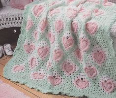 Sweetheart Baby Afghan Crochet Patterns