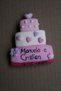 segnaposto originale mini wedding cake