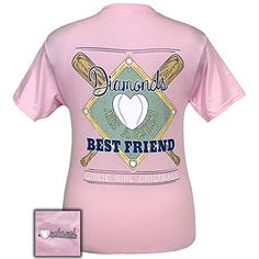 3bb9fa759 Girlie Girl Originals Diamond Best Friend Preppy Short Sleeve TShirt Small  -- Find out more