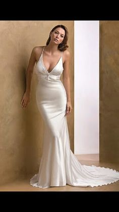 Beautiful modern gown.