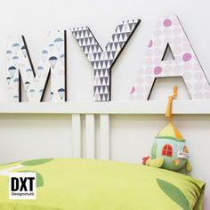 Lettere in legno per arredare camerette e salotti. Scopri tutte le lettere e i modelli sul nostro sito