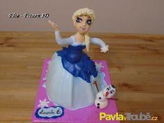 Frozen - Elsa http://www.pavlavtroube.cz/o-peceni/detske-dorty/dort-elsa.html