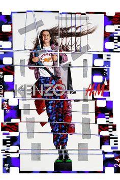 KENZO H/&M WOOL TIGER STRIPE LEGGINGS TROUSERS SIZE UK 8 UK 10