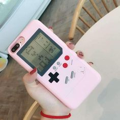 Pink Game boy iphone case cool item, retro and geek style. Gift for gamer. Iphone 7 Plus, Iphone 8, Iphone Hacks, Pink Iphone, Iphone Watch, Game Boy, Gameboy Games, Nintendo Games, Gameboy Iphone