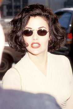 30 Sexiest Wispy Bangs You Need to Try in 2019 - Style My Hairs 90s Hairstyles, Hairstyles With Bangs, Pelo Guay, Hair Inspo, Hair Inspiration, 1990 Style, Sherilyn Fenn, 80s Hair, Vintage Beauty