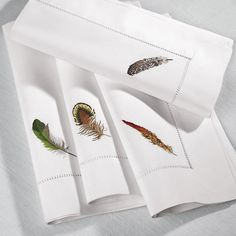 Quill Napkins