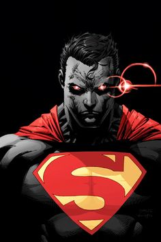 #Superman #Fan #Art. (Superman red) By: Jim Lee. [THANK U 4 PINNING!!]