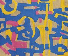 Azzurro-giallo - Carla Accardi 1988