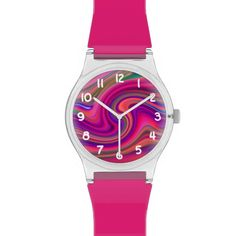 Customizable Pink Epicenter May 28th Wrist Watch