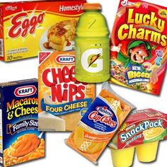 Yellow No. 5 - 9 Food Additives That May Affect ADHD. I hate artificially food coloring. The one food I can't avoid with it is that stupid blue box mac. Every restaurant serves it and my kid loves it. I'm forever trying to get him to like natural cheese instead of powdered fake crap.