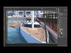 Water Architectural D Visualisation Tutorial By Vyonyx For Gobotree Youtube Arch
