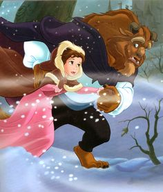 """visionsfantastic: """" From """"Getting to Know You,"""" found in Princess Bedtime Stories. Disney Princesses And Princes, Disney Princess Dolls, Princess Belle, Arte Disney, Disney Fan Art, Disney Dream, Disney Love, Beauty And The Beast Movie, Disney Illustration"""