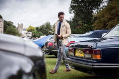 04/09/16 || Delighted to have @DGandyOfficial as one of our expert #Bentley judges at the Windsor #Concours2016