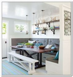 built in kitchen seating plans - Google Search