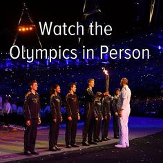 Bucket list: watch the Olympics in person! I've done this before, but I want to see the opening or closing ceremony live in person :-)