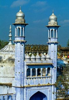 Mosque of Aurangzed in Banaras, India