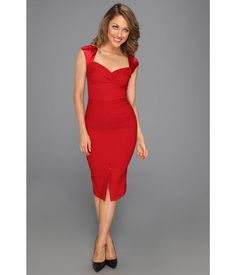 Stop Staring! for The Cool People Jenna Fitted Dress Womens Red Stop Staring, Vintage Inspired Fashion, Wiggle Dress, Lady In Red, Dress To Impress, Bodycon Dress, Formal Dresses, My Style, Dress Red
