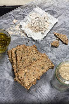 Posni krekeri sa sjemenkama