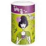Teedose RITZENHOFF Tea Caddy Gockel H19cm Porzellan
