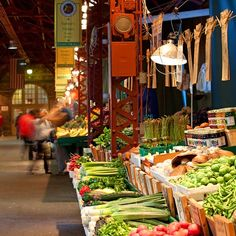 Soulard Market- St. Louis, Missouri!  I'll be visiting this place more than once this summer.  Love it!