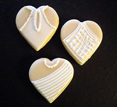 wedding dresses sugar cookies - themarriedapp.com hearted <3