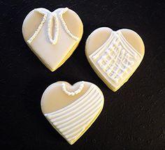wedding dresses sugar cookies - themarriedapp.com hearted <3