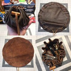 Diy Leather Gifts, Leather Bags Handmade, Leather Craft, Leather Pouch, Leather And Lace, Mens Coin Purse, Kentucky, Everyday Carry Items, Pouch Pattern