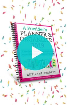 Take a sneak peak at the all NEW 2019 PROVIDER PLANNER!