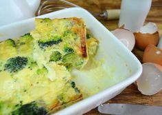 Pastel de brócoli y queso (sin lactosa) Receta de lasdeliciasdemayte - Cookpad