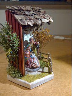 Tabletop Christmas Tree, Christmas Art, Christmas Decorations, Nativity Stable, Scroll Saw, Cribs, Stables, Portal, Home Decor