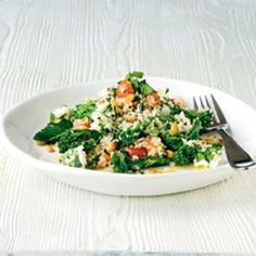 Bulgur Wheat, Feta and Broccoli Salad Recipe