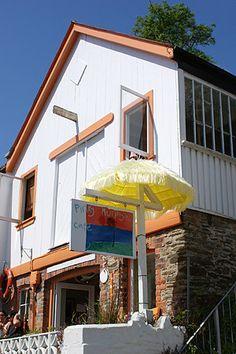Pinky Murphy's Café, Fowey, Cornwall