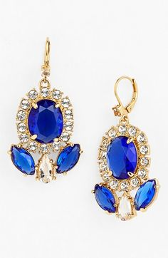 blue sparkle drops by kate spade new york