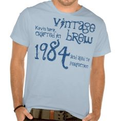 >>>Best          30th Birthday Gift 1984 Vintage Brew Blue Denim T Shirts           30th Birthday Gift 1984 Vintage Brew Blue Denim T Shirts We have the best promotion for you and if you are interested in the related item or need more information reviews from the x customer who are own of them...Cleck Hot Deals >>> http://www.zazzle.com/30th_birthday_gift_1984_vintage_brew_blue_denim_tshirt-235919523660806828?rf=238627982471231924&zbar=1&tc=terrest