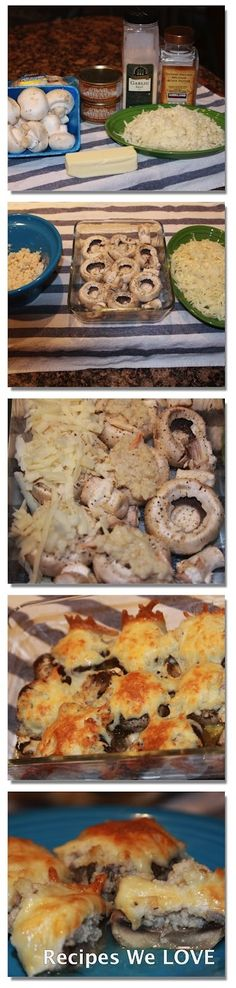 BEST EVER!!!! Crab Stuffed Mushrooms there are NEVER any left and everyone wants the recipe.