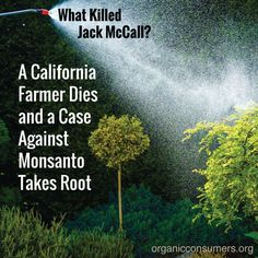 Another farm widow is pointing the finger at Monsanto after her husband -a man…