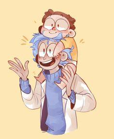 Rick and Morty fan art
