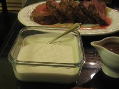 Horseradish Sauce Recipes, How To Make Horseradish Sauces, Sauce Recipes, Condiment Recipes, Beef Steak and Prime Rib Sauces