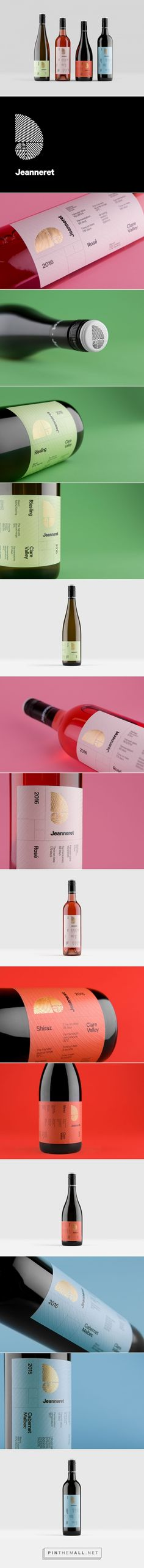 Jeanneret Wine Packaging by Chris Cooper | Fivestar Branding Agency – Design and Branding Agency & Curated Inspiration Gallery