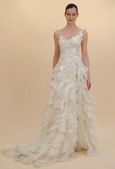 Brides.com: . Gown by Francesca Miranda Spring 2012